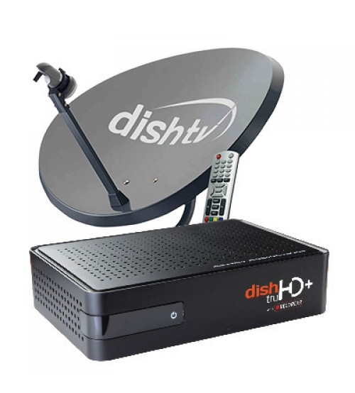Dish Tv New Connection 1 Month Super Family SD Pack Free.