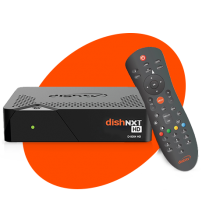 Dish Tv Only HD Box With 1 Month Super Family HD Pack