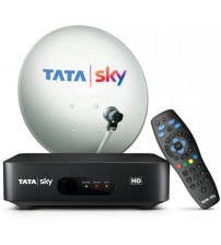 Tata Sky New HD Set Top Box 1 Bengali Hindi Basic SD Pack