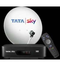 Tata Sky New HD Set Top Box With 1 Month Telgu Basic SD Pack