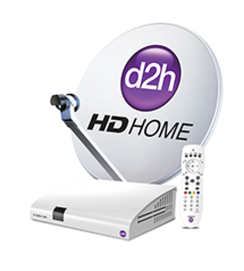 Videocon D2h New HD  Set Top Box With 1 Month Gold Combo