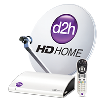 Videocon D2h New HD  Set Top Box With 1 Month New Diamond Pack