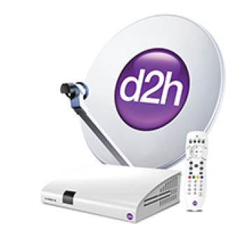 Videocon D2h New SD  Set Top Box With 1 Month Gold Combo Pack