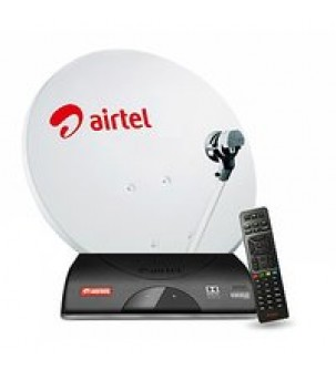 Airtel Dth New Connection 1 Month FTA Pack Free.