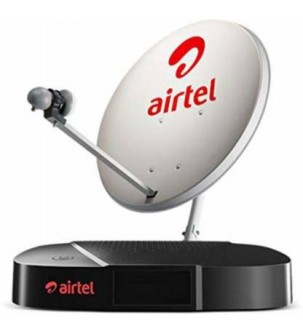 Airtel Dth New Connection With 1 Month AP (Telgu) Value Lite SD Pack