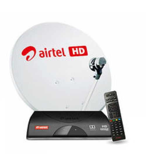 Airtel Dth New Connection With 1 Month New Karnataka HD Pack