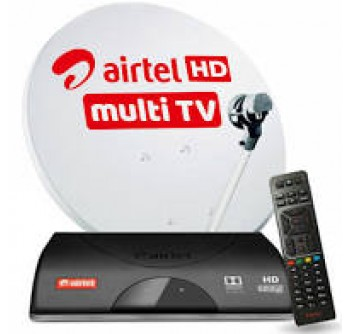 Airtel Digital Tv HD Box 1 Month FTA Package Free