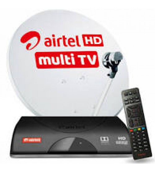 Multi Airtel Tv & New Connection for 2nd Tv Pack