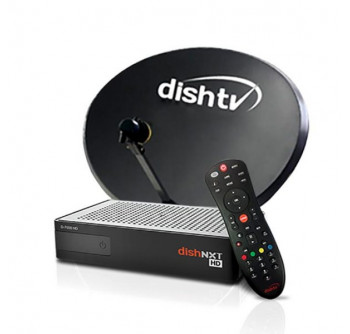 Buy Dish Tv New Hd Set Top Box With 1 Month Maxi Sports Hd Packfree